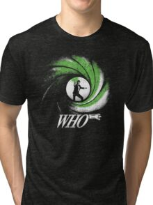 The Name's Who Tri-blend T-Shirt