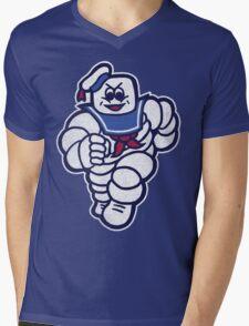 Marshmelin Man Mens V-Neck T-Shirt