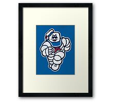 Marshmelin Man Framed Print