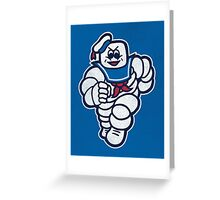 Marshmelin Man Greeting Card