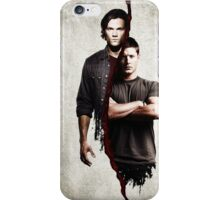 supernatural - dean and sam iPhone Case/Skin