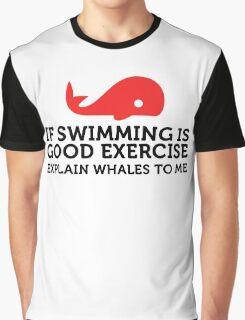 Explain Whales Graphic T-Shirt