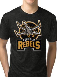 Republic Rebels Tri-blend T-Shirt