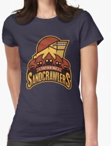 Tatooine SandCrawlers Womens Fitted T-Shirt