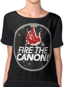 Fire The Canon Chiffon Top
