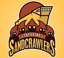 Tatooine SandCrawlers by WanderingBert