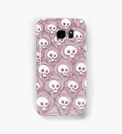 simple skulls lead simple lives Samsung Galaxy Case/Skin
