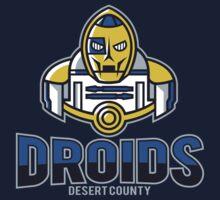 Desert County Droids Kids Tee