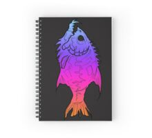 Colourful piranha Spiral Notebook