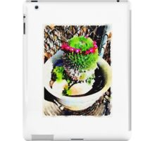 blooming crown iPad Case/Skin