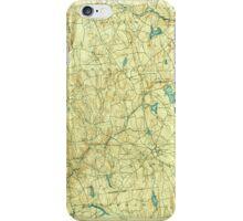 USGS TOPO Map Connecticut CT Gilead 331031 1892 62500 iPhone Case/Skin