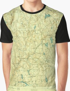 USGS TOPO Map Connecticut CT Gilead 331031 1892 62500 Graphic T-Shirt