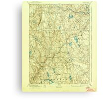 USGS TOPO Map Connecticut CT Gilead 331031 1892 62500 Metal Print