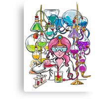 Science With Princess Bubblegum Canvas Print