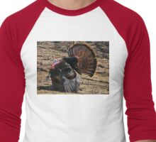 Turkey Trot Men's Baseball ¾ T-Shirt