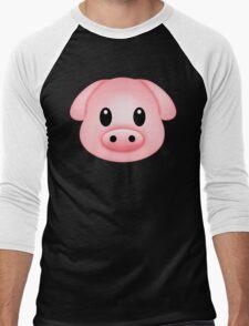 Pinkg Men's Baseball ¾ T-Shirt