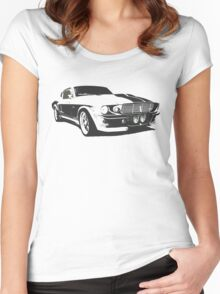 Mustang GT500 Graphic Women's Fitted Scoop T-Shirt
