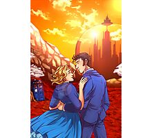 Ten and Rose on Gallifrey Photographic Print