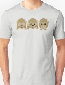 Three Wise Monkeys Unisex T-Shirt