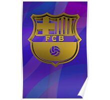Tribute to F C Barcelona Poster