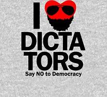 I Heart Dictators Womens Fitted T-Shirt