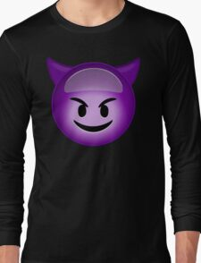 Evil Purple Long Sleeve T-Shirt