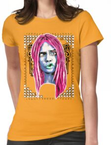 CARA Goofy Womens Fitted T-Shirt