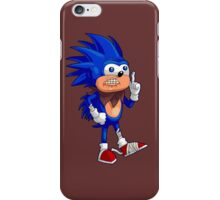 Boom Sanic iPhone Case/Skin