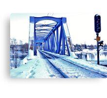 Winter Destination Canvas Print