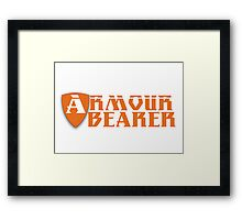 Armour Bearer Framed Print
