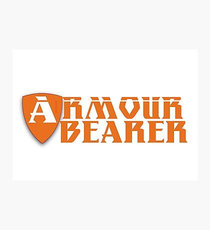 Armour Bearer Photographic Print