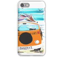 WESTY VW Kombi Camper Van iPhone Case/Skin