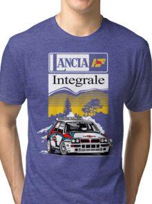 LANCIA INTEGRALE : GIFT Tri-blend T-Shirt