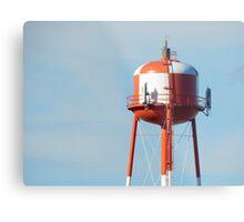 Standard Water Tower of Spokane Metal Print