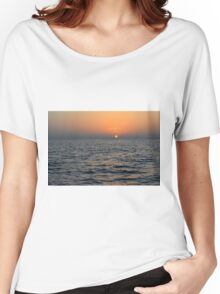 Sunset at the sea. Women's Relaxed Fit T-Shirt