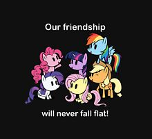 Our Friendship Won't Fall Flat Unisex T-Shirt