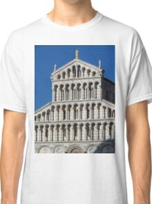 Marble Facade - Pisan Romanesque Style Classic T-Shirt