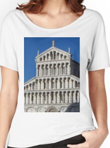 Marble Facade - Pisan Romanesque Style Women's Relaxed Fit T-Shirt