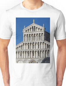 Marble Facade - Pisan Romanesque Style Unisex T-Shirt