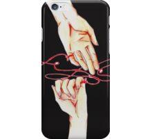 filo_rosso_ iPhone Case/Skin