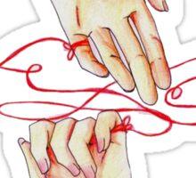 filo_rosso_ Sticker