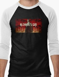 Alekhine's Gun  Men's Baseball ¾ T-Shirt