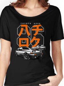 THE AE86  Women's Relaxed Fit T-Shirt