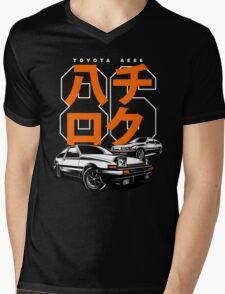 THE AE86  Mens V-Neck T-Shirt