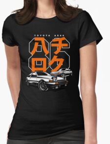 THE AE86  Womens Fitted T-Shirt