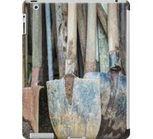 Rusty gardening tools iPad Case/Skin