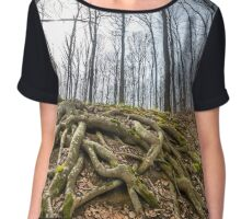Forest landscape Chiffon Top