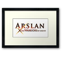 arslan the warriors of legend Framed Print