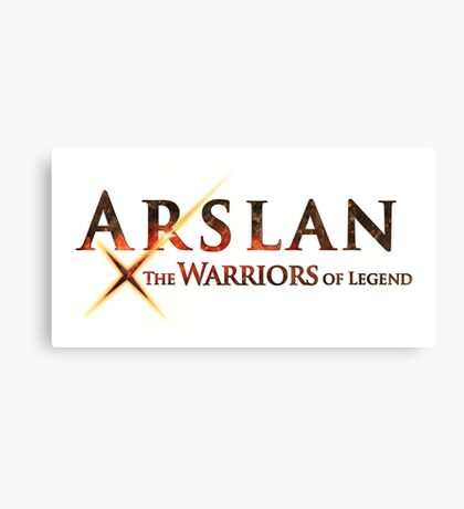 arslan the warriors of legend Canvas Print