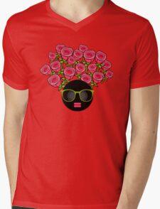 Roses Mens V-Neck T-Shirt